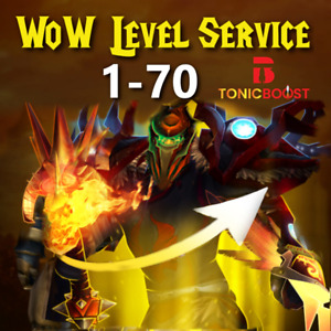 WoW Classic TBC Levelservice - Powerleveling 1 - 70