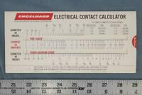 Vintage Engelhard Electrical Contact Calculator dq