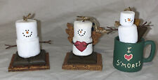 Set of 3 The Original S'mores Christmas Ornaments by Midwest New in Box
