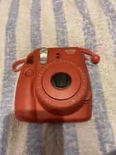 Fujifilm Instax Mini 8 Camera Raspberry Excellent Condition