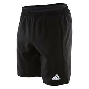 "Adidas Men's Running Shorts M Climalite 7"" Black Dry-Fit AI3295 Size S,M,L,XL"