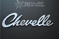 Chevy Chevelle Logo Large Metal Sign Metal Garage sign Chevrolet  Metal Art 3