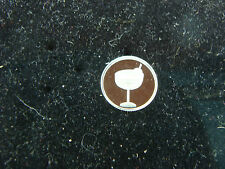 Margarita Glass  1 Gram .999 Pure Silver Round Coin Bar Bullion  Great gift idea