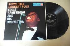 "LOUIS ARMSTRONG ""TOWN HALL CONCERT PLUS-disco 33 giri RCA VICTOR Ita"""