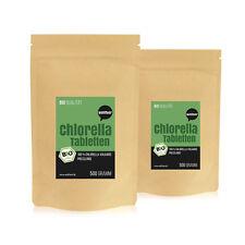 Wohltuer Bio Chlorella in Rohkostqualität (Doppelpack 2x 500g Beutel)