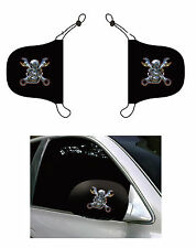 Metal Skull N Wrenches, Car Mirror Cover, Auto Flag, Chroma Covers FPL