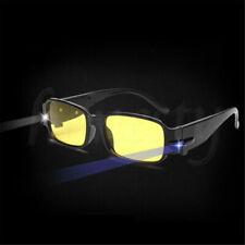Multi fuerza LED gafas lente espectáculo dioptría lupa luz de lectura para