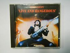 THIN LIZZY - LIFE AND DANGEROUS  - CD  RED SWIRL VERTIGO 838030-2 W.GERMANY