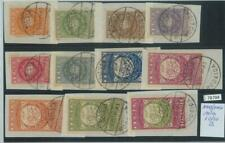 78704 -  NORD north YEMEN - Postal History STAMPS - Michel  #  10/20 used