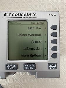 Concept 2 PM4 Monitor