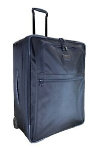 Used Tumi Alpha 2 Short Trip 2 Wheel Expandable Suitcase Black 22024D2 MSRP $895