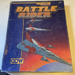 Battle Rider-GDW-new in box-unplayed-unpunched counter cards