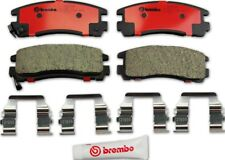 Disc Brake Pad Set-Premium NAO Ceramic OE Equivalent Pad Rear Brembo P54012N