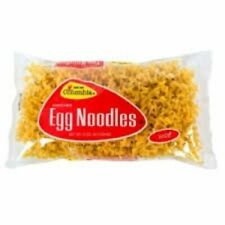 New listing Lot of 4 Bags Packages Columbia Wide Egg Noodles 12 Oz Each