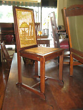 Mission Oak Arts & Crafts Era Cane Seat Chair Desk/Side Stickley Bros?