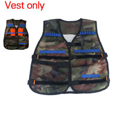 Top Tactical Vest  Bullets Holder For Darts and Ammo Clips In Nerf N Strike Game