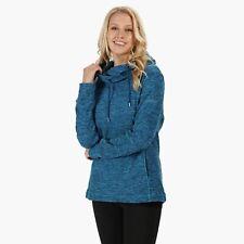 Regatta Women's Kizmit II Hooded Marl Fleece - Blue