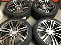 """20"""" BM820 Staggered Alloy Wheel and Tyre Set of 4 to fit BMW X5 (Ex-Display)"""