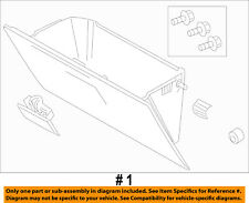 FORD OEM 08-10 F-250 Super Duty-Glove Compartment Box Assy 8C3Z2506024AA