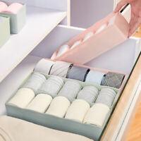 5 Lattice Underwear Bra Container Storage Box Sock Tie Draw Divider Organiser