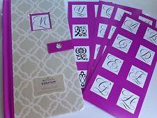 BRAND NEW! Hallmark Signature Collection Monogram Address Book, Personalize