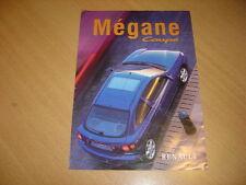 DEPLIANT Renault Megane Coupé de 1998