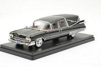 Neo Cadillac Superior Crwon Royale Landau Hearse 1959 Black 1:43 49597