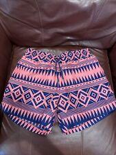 New listing Chubbies Swim Trunks Medium Aztec Tribal USA Mesh Lined Flaws Shorts