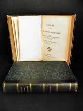 TIBY ROSAMEL Notices Colonies Françaises 4T en 2V GUADELOUPE MADAGASCAR 1837