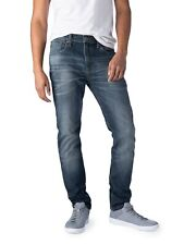New Signature by Levi Mens S37 Premium Slim Leg Flex Stretch Jeans Columbia Blue