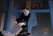 Batman Animated Series Original Cel Batman Bruce Wayne