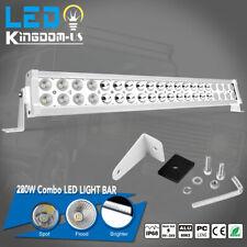 "22""inch 280W LED Work Light Bar Flood Spot Offroad SUV ATV Boat Driving 24"""