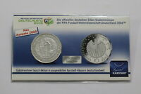 Germany 5 x 10 Euros in the Air 2019 Proof ADFGJ Paraglider complete set Folder