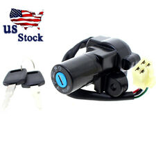 US Stock CNC Steering Ignition Switch Lock Key For Suzuki DR650 1990-1995 1996