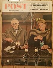 THE SATURDAY EVENING POST JANUARY 30 1954 GENERAL DEAN BRAINWASHED EISENHOWER