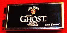 Jim Beam Ghost White Whiskey - Money Clip - Stainless Steel...NEW