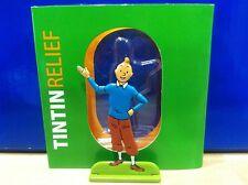 Figurine Métal Tintin Présente MOULINSART