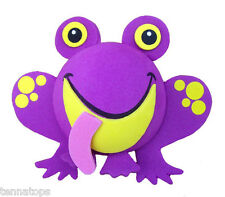 Tenna Tops® Purple Frog Car Antenna Topper / Antenna Ball / Mirror Dangler