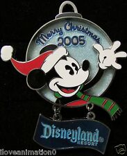 Disney Holiday Ornament Collection Mickey Mouse Artist Proof AP Pin