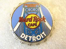 DETROIT,Hard Rock Cafe Pin,Bottle Cap Series