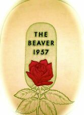 "1957 OREGON STATE UNIVERSITY YEARBOOK ""The Beaver"" ~ROSEBOWL! Theta Chi!"