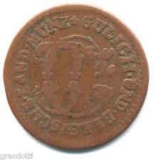 JULICH BERG KARL THEODOR 1/4 STUBER 1783 PAUL MAASSEN  GERMANIA
