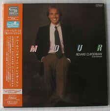 RICHARD CLAYDERMAN-AMOUR + 2 Japon SHM MINI LP CD Nouveau! VICP - 70047
