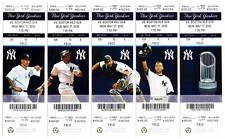 Alex Rodriguez Home Run 588 Yankees 5/17 Ticket Stub HR