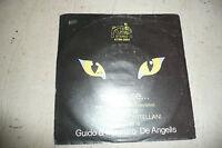 """GUIDO&MAURIZIO DE ANGELIS""""LA GATTA-disco 45 giri KANGAROO 1978 SIGLA TV"""""""
