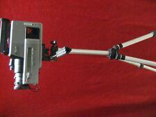 universal camcorder/camera/video tripod anodized aluminum  360 degree rotation