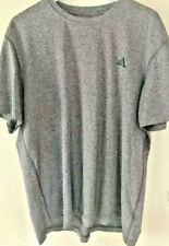 Mens 2Xl Adidas Climalite Tee Shirt Top Gray Xxl Athletic