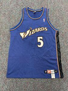 Vintage VTG Authentic Washington Wizards Juwan Howard Nike Authentic Pro Cut