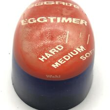 """!!Vintage, Lucite EggRite """"Wahll"""" EGG TIMER; Handy Tool for All the Egg Lovers!"""