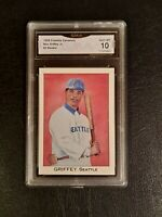 GEM MINT 10 1989 Franklin Carmels Ken Griffey Jr PSA comp $900+ ROOKIE RARE!!!